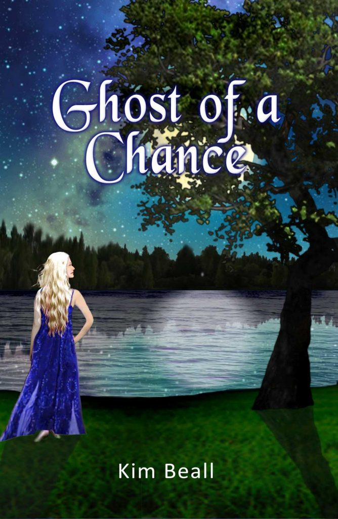 Ghost of a Chance preliminary cover art